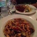 Penne Pasta & Red Snapper Fillet