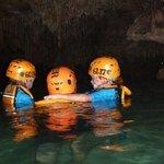 nado en rio subterraneo