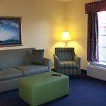 Den area of suite