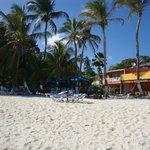 Playa y el restaurant