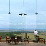 View of the Masai Mara Reserve from the lodge
