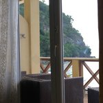 View from room.
