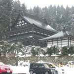 Beautifull remote Takayama in winter.