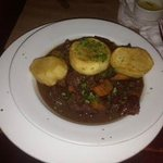 Beef bourguignon at Hector's