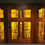 The amazing Blacker House doors by Greene and Greene