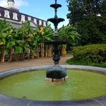 Water fountain in Jackson Square
