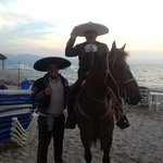 Mexican night on the beach. Great fun.