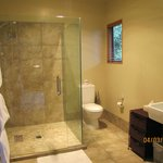 Courtyard Room Bathroom with large shower