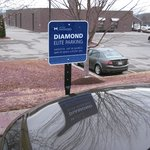 Diamond Elite Parking in the Front of the Hotel