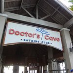 Doctor's Cove Beach entrance