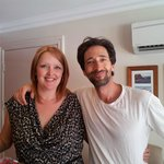 Grammy Award winner Adrien Brody (The Pianist) enjoyed his stay