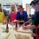 Masterchef's Kate Bracks in our teaching kitchen