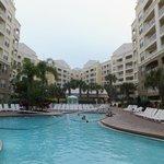 pool between Building 1 & 2