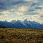 The Teton Mountain range....AMAZING!
