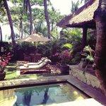 Our incredible private villa