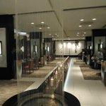 Trendy and beautiful lobby restaurant