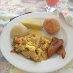Traditional Jamaican Breakfast
