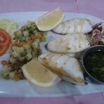 Grilled squid, very good!