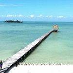 Mayan Islands Resort west dock area