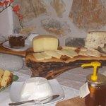 Primo piano del nostro formaggio