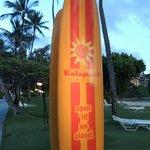 Beach facilities: interesting sign
