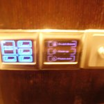 Touch screen controls of lights and room signs