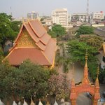 View over Wat Mixay