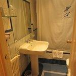 ванная комната тесновата