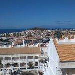 Blick vom Balkon nach Los Christianos