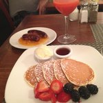 pancake ricotta e limone
