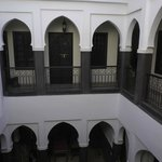 Central space in Riad