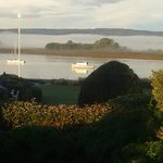 View over Exe estuary from the Powderham suite