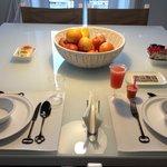 Particolare della colazione