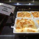 granchio e formaggio