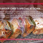 CHEF'S SPECIAL OF THE DAY AT SOMA