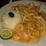 Shrimp Mozambique!