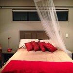 Bedroom at Twin Oaks