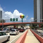 Hallandale Beach BLVD, just steps away from the beach and all shops.