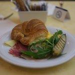 朝食。おいしかったです