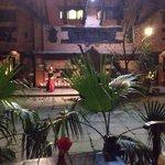 Courtyard evening