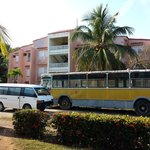 autobus distrutto lasciato a marcire