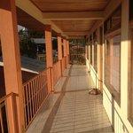 Second floor of hotel