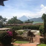 View from the garden of Santo Domingo