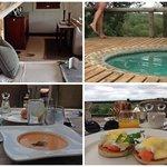 Номер, бассейн, обед и завтрак