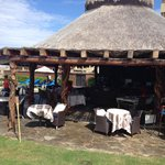 The restaurant by the beach- best food ever!!
