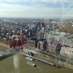 In prossimità dell'albergo, ripresa da London Eye
