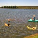 Sani Valley lodge - swimming