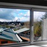 view from upper floor bedroom window