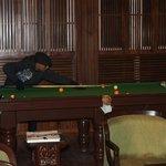 The billiards pool