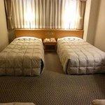 4人部屋はベッドが4本